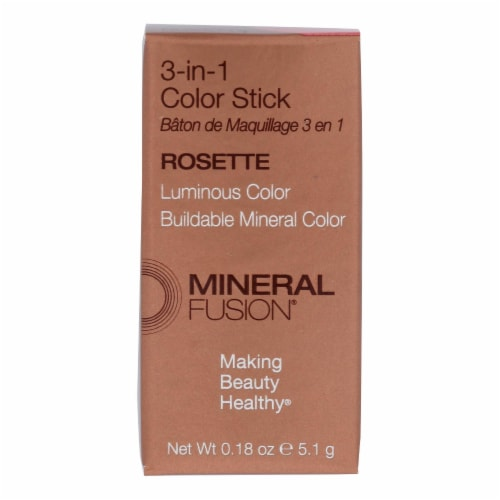 Mineral Fusion Rosette 3-in-1 Color Stick Perspective: front