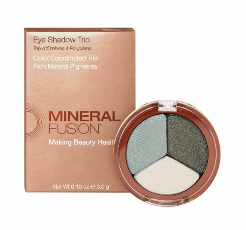 Mineral Fusion  Eye Shadow Trio Jaded Perspective: front