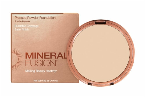 Mineral Fusion Warm 1 Pressed Powder Foundation Perspective: front
