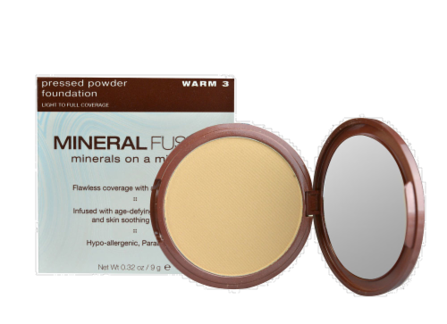 Mineral Fusion Warm 3 Pressed Powder Foundation Perspective: front