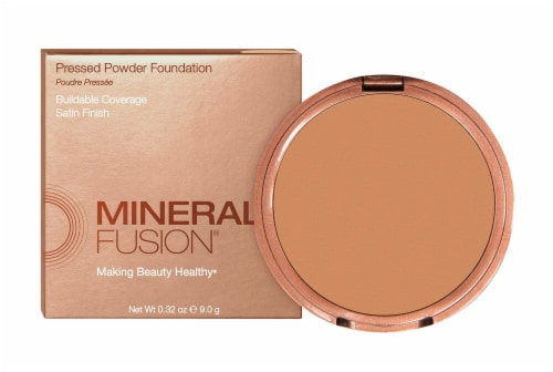 Mineral Fusion Olive 3 Pressed Powder Foundation Perspective: front