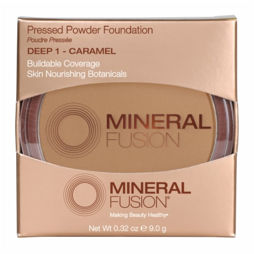 Mineral Fusion Deep 1 Pressed Powder Foundation Perspective: front