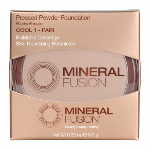 Mineral Fusion Cool 1 Fair Pressed Powder Foundation Perspective: front