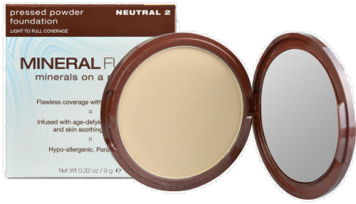 Mineral Fusion Neutral 2 Pressed Powder Foundation Perspective: front