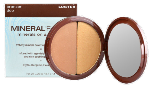Mineral Fusion Luster Bronzer Duo Perspective: front