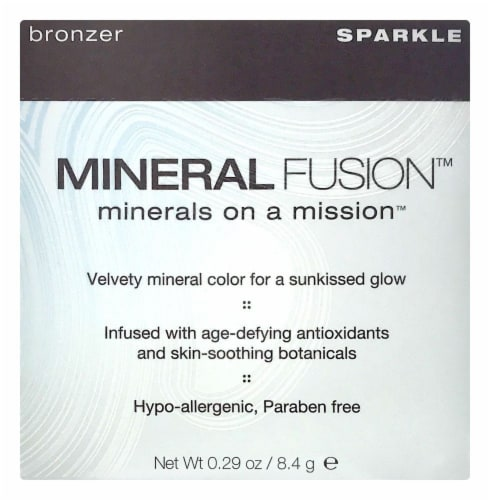 Mineral Fusion Sparkle Bronzer Perspective: front