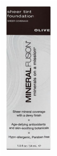 Mineral Fusion MF2201 Olive Sheer Tint Foundation Perspective: front