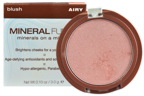 Mineral Fusion Airy Blush Perspective: front