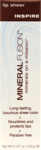 Mineral Fusion Inspire Lip Sheer Perspective: front