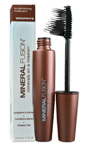 Mineral Fusion Graphite Lengthening Mascara Perspective: front