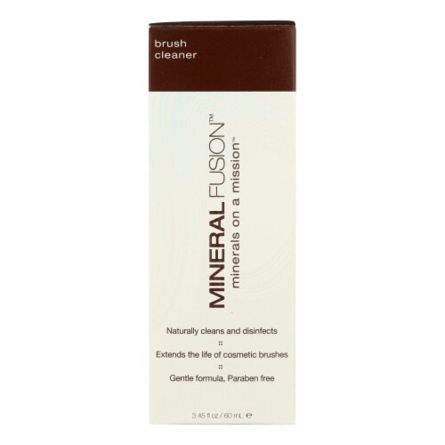 Mineral Fusion Natural Makeup Brush Cleaner Perspective: front