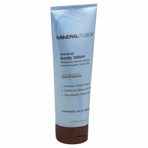 Mineral Fusion Earthstone Body Lotion Perspective: front