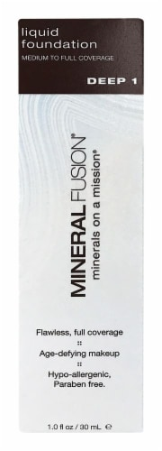Mineral Fusion MF5707 Deep 1 Liquid Foundation Perspective: front