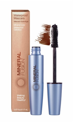 Mineral Fusion Cocoa Waterproof Mascara Perspective: front