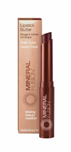 Mineral Fusion Blackberry Lipstick Butter Perspective: front