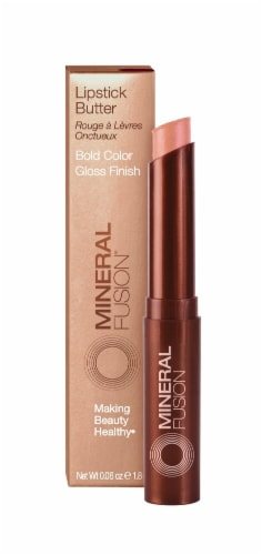 Mineral Fusion Honeysuckle Lipstick Butter Perspective: front