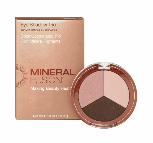 Mineral Fusion Rose Gold Trio Perspective: front