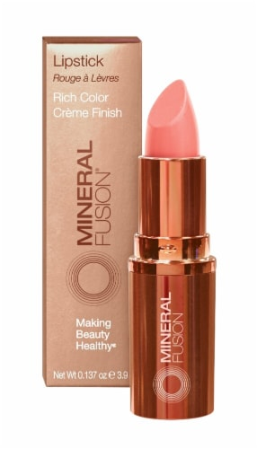 Mineral Fusion Melon Lipstick Perspective: front