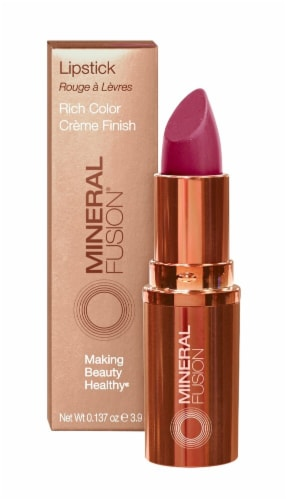 Mineral Fusion Ruby Lipstick Perspective: front