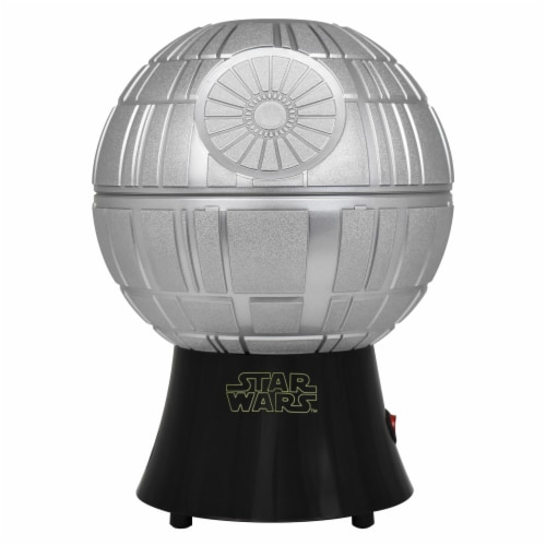 Star Wars Death Star Hot Air Style Popcorn Maker with Removable Bowl Perspective: front