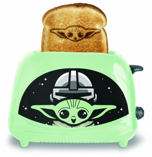 Star Wars 810669 Star Wars the Mandolorian the Child Empire Toaster Perspective: front