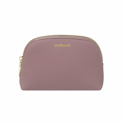 Cacharel CTK836Z Small Cosmetic Bag - Taupe Perspective: front