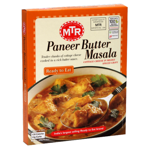 MTR Paneer Butter Masala Perspective: front