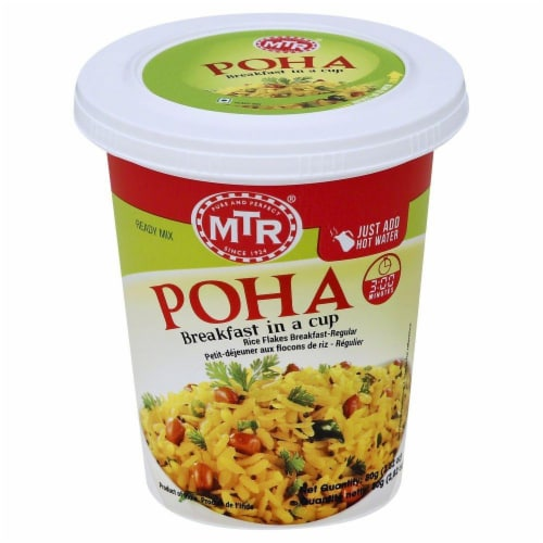 MTR Poha Breakfast In A Cup Perspective: front