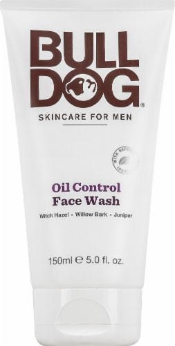 Bulldog Oil Control Face Wash for Men Perspective: front