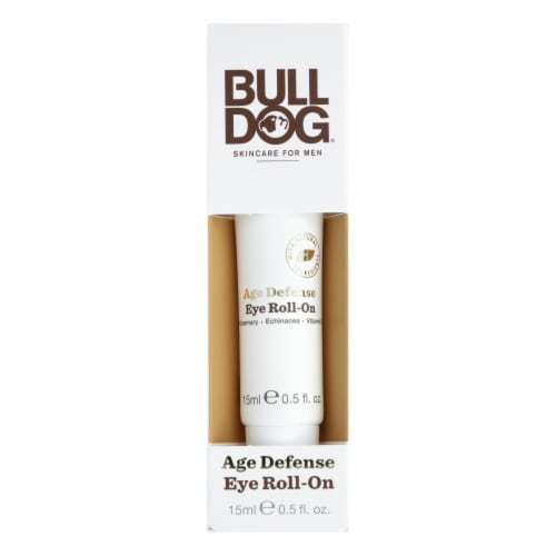 Bulldog Natural Skincare - Eye Roll-on Age Defense - 1 Each - 0.5 OZ Perspective: front