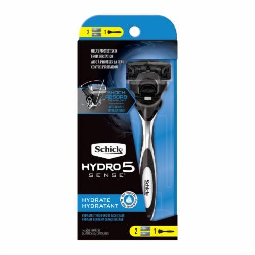 Schick Hydro 5 Sense Hydrate Razor Perspective: front