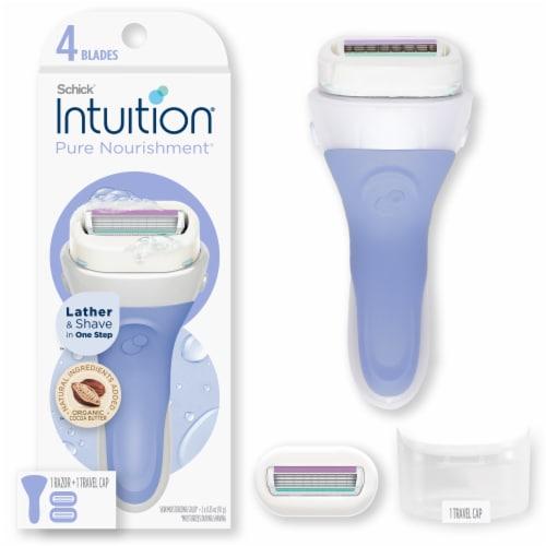 Schick® Intuition® Pure Nourishment Razor Perspective: front