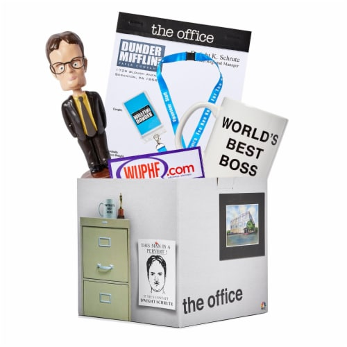 The Office LookSee Collector's Mystery Gift Box - Bobblehead, Mug, Lanyard, And More Perspective: front