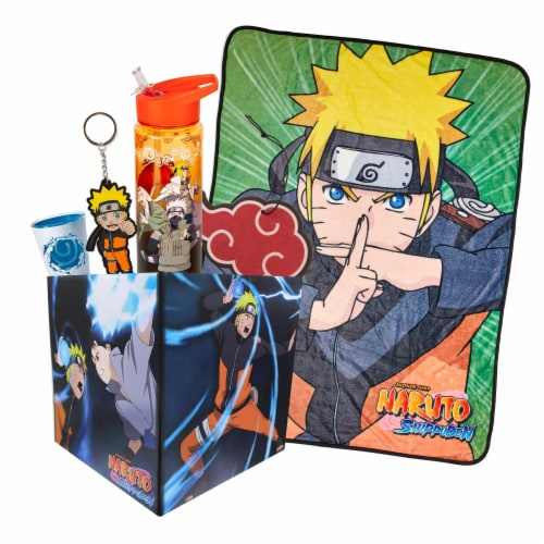 Naruto Shippuden LookSee Collector's Box | Includes 5 Naruto Themed Collectibles Perspective: front