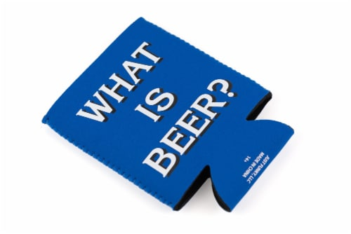 Jeopardy What Is Beer Koozie Insulated Can Koozie | Foam Beer Can Cooler Sleeve Perspective: front