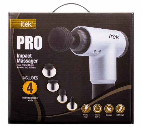 Midwest Trading Group Pro Impact Pro Massager Set Perspective: front