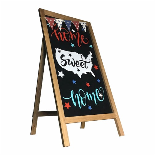 Offex Modern Decorative Home Sweet Home Easel - 32 H Perspective: front