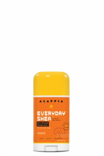 Alaffia EveryDay Shea Unscented Dry Finish Deodorant Perspective: front