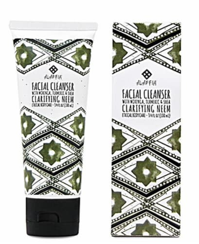 Alaffia  Facial Cleanser Clarifying Neem Turmeric Perspective: front