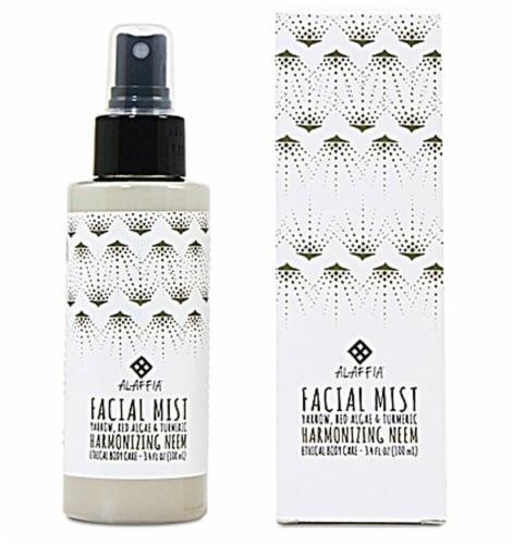 Alaffia  Facial Mist Harmonizing Neem Turmeric Perspective: front