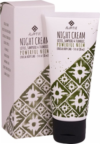 Alaffia  Night Cream Powerful Neem Turmeric Perspective: front