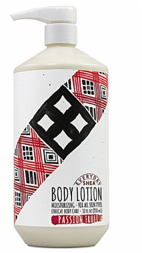 Alaffia Passion Fruit Body Lotion Perspective: front