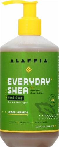Alaffia Everyday Shea Lemon Verbena Hand Soap Perspective: front