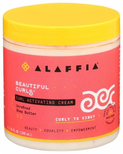 Alaffia Beautiful Curls Curl Activating Cream Perspective: front