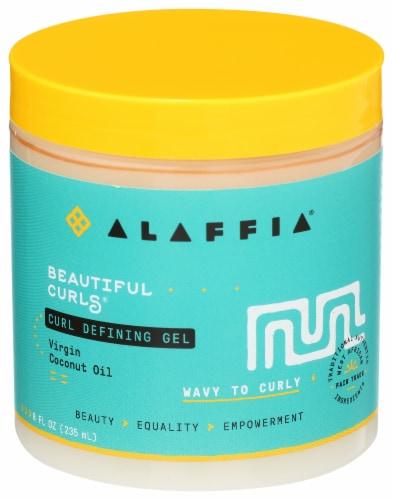 Alaffia Beautiful Curls Curl Defining Gel Perspective: front