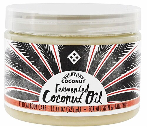 Alaffia  EveryDay Coconut Fair Trade African Coconut Oil Perspective: front