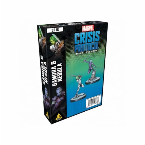 Atomic Mass Games AMGCP16 Marvel Crisis Protocol - Gamora & Nebula Perspective: front