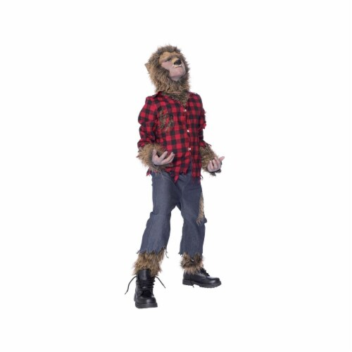 Costumes For All Occasions MR144020 Wolfman Child Costume Large Perspective: front