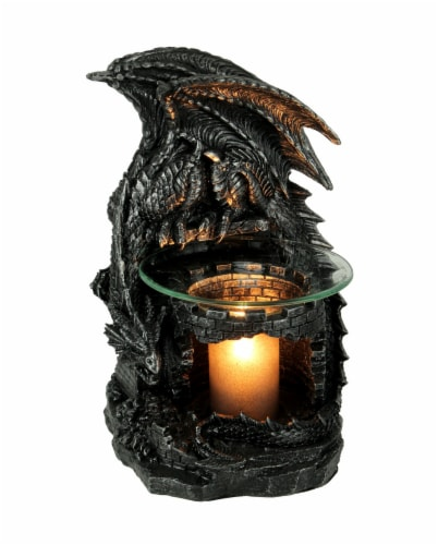 Fragrance of the Fierce Dragon Castle Guardian Electric Oil Burner Perspective: front