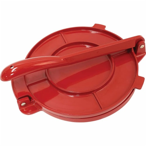Chefs Secret Red Tortilla Press ,  6-Inch Perspective: front
